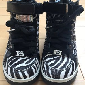 Michael Kors Limited Edition High Top Sneakers